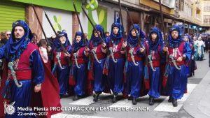 2017-01-22 Media Fiesta PROCLAMACION y DESFILE DE HONOR 006