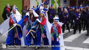 2017-01-22 Media Fiesta PROCLAMACION y DESFILE DE HONOR 009